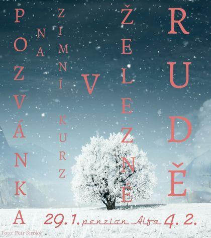 Pozvanka zimni kurz 2017